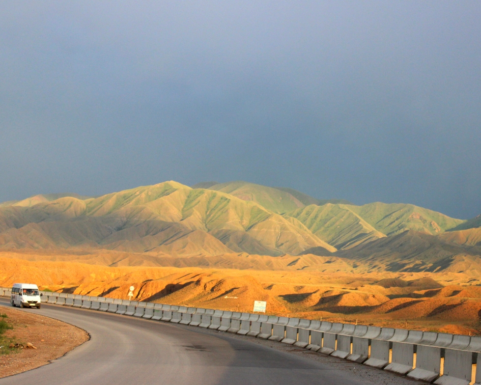 Kirgiskie drogi