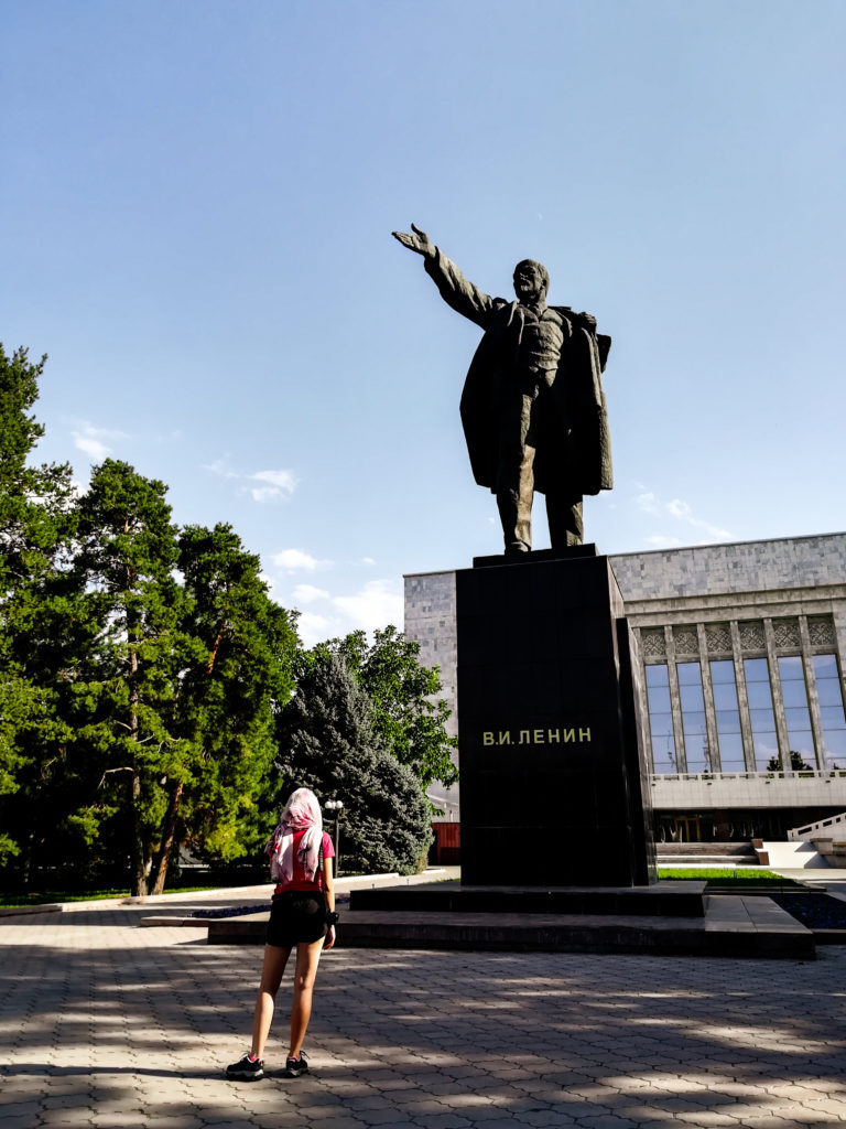 Lenin w Biszkeku