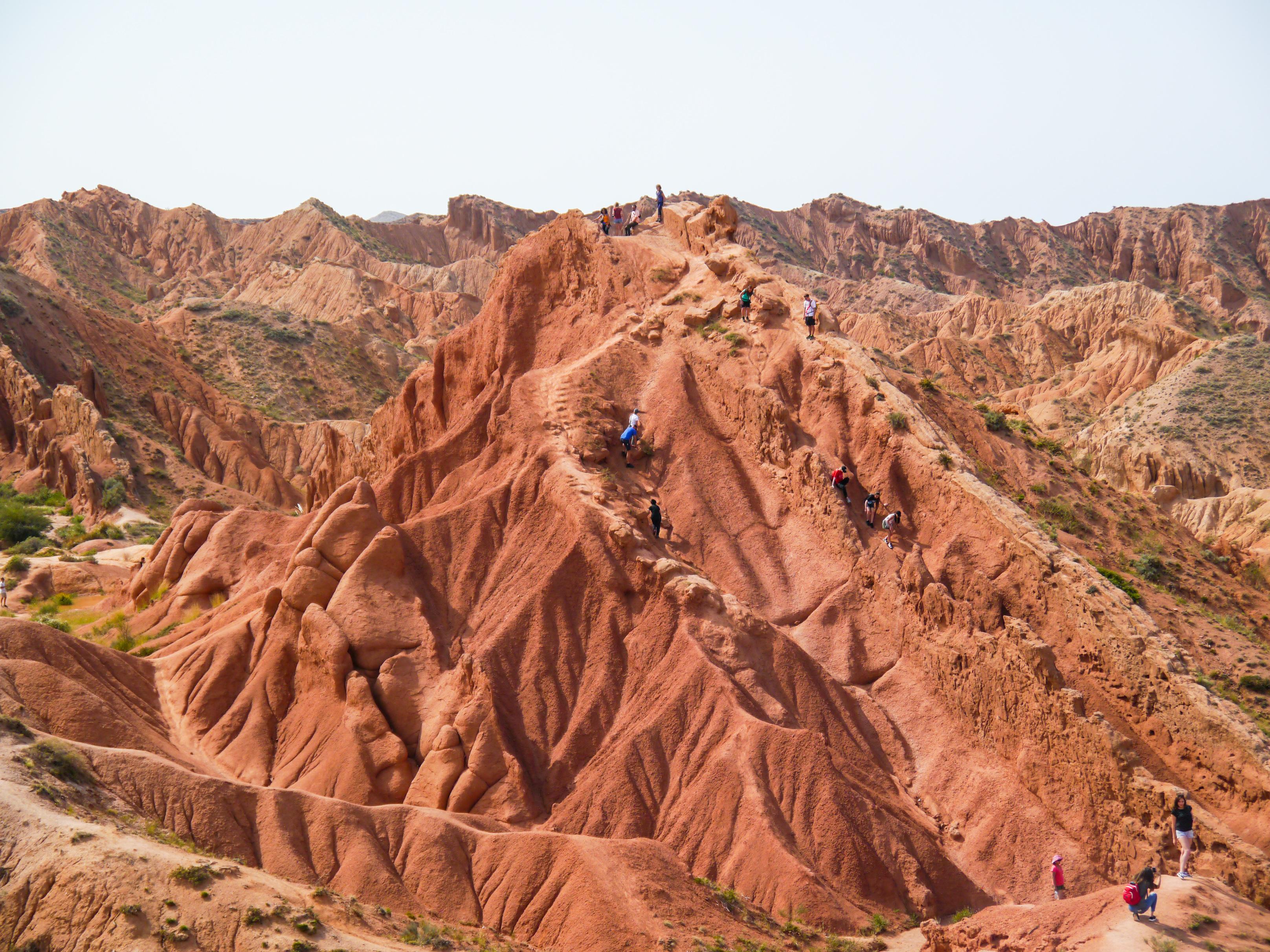 Kanion Skazka – Bajkowy Kanion – Fairy Tale Canyon – Region Południowy Issyk Kul