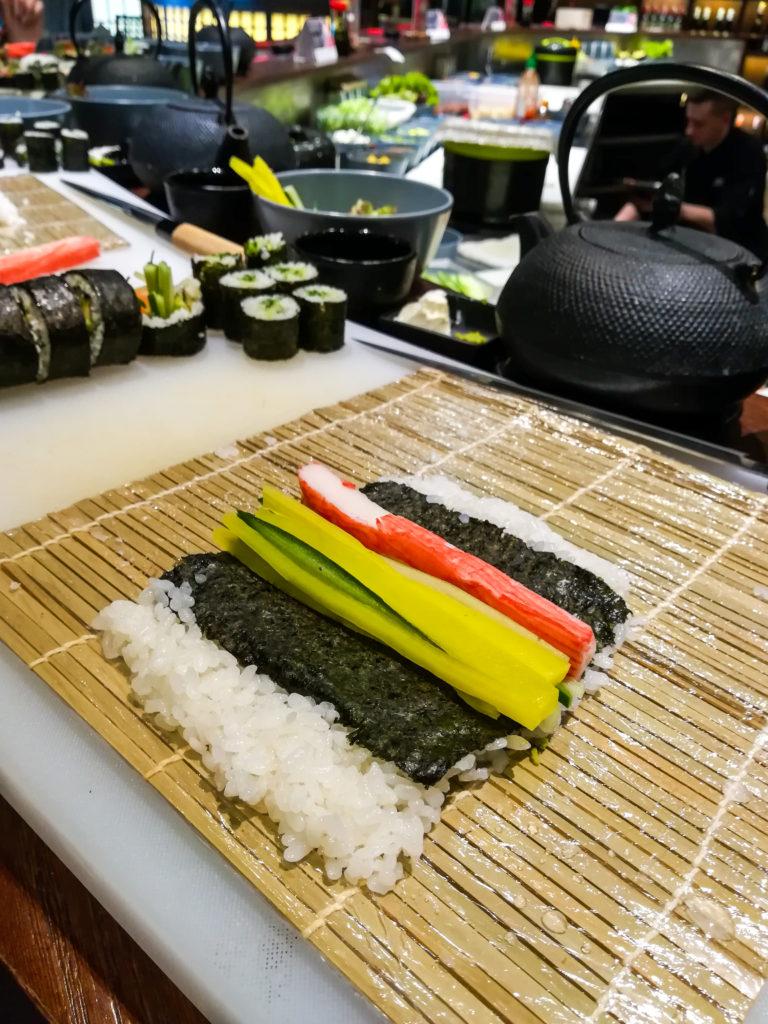 Prezent Marzeń Hashi Sushi