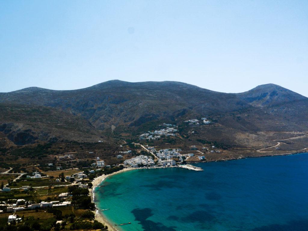 Plaża w Aegiali