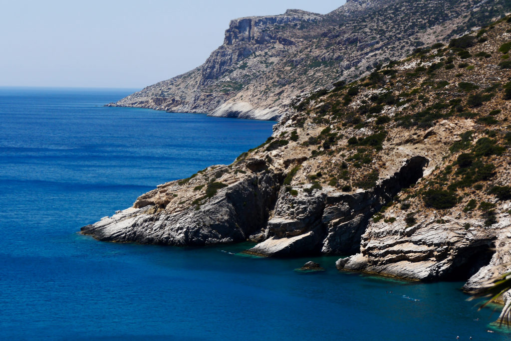 Plaże na Amorgos