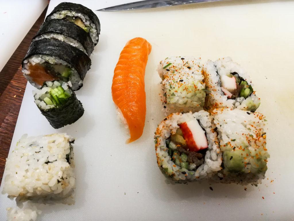 Hashi Sushi kurs sushi