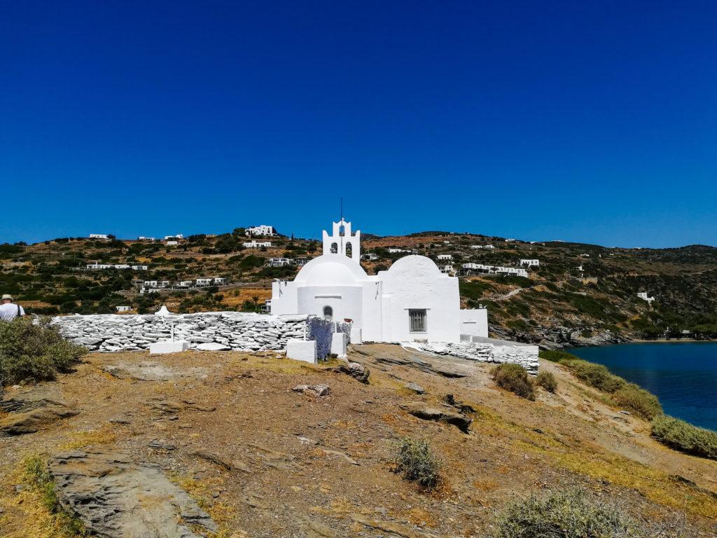 Klasztor Chrisopigi Sifnos