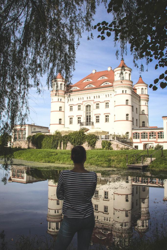 Pałac w Wojanowie - zwiedzanie